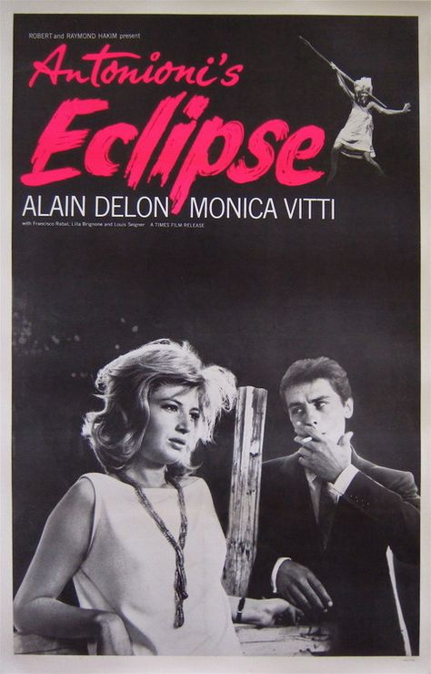 Poster, L'Eclisse, 1962