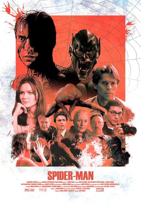 Vintage Spider-Man (2002) Alternative Movie Poster - PosterSpy