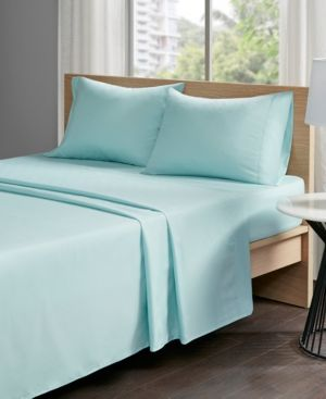 Sleep Philosophy Copper Touch Copper Infused 4 Pc California King Sheet Set Blue Jla Home California King Bedding Sets Sheet Sets Full
