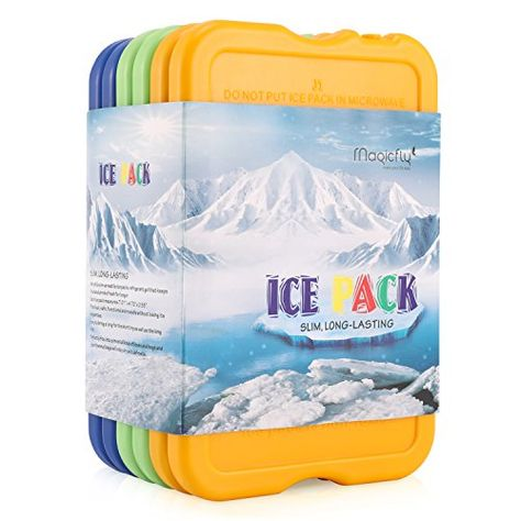 Thermos Freeze Board Ice Pack Block 200g For Cool Bag Chill Box Cooler