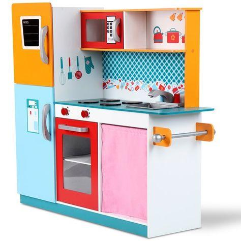 Kinderküche MIKA mit Kühlschrank