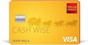 Wells Fargo Cash Wise Visa Card details - #Card #Cash #Details