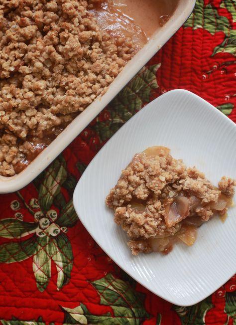 must-make fall recipe: old-fashioned apple crisp   Sugarlaws
