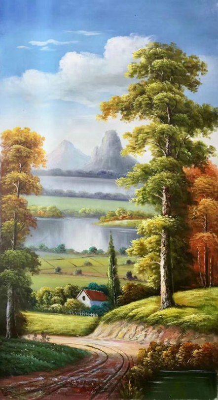 Best Painting Modern Nature Ideas Painting Lindas Paisagens Arte Da Paisagem Pintura Em Telas Paisagem