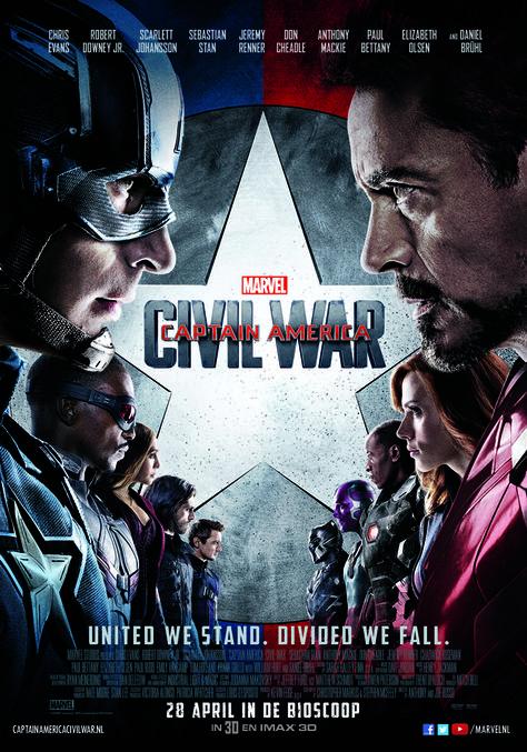 Captain America Civil War Chickflicks Marvel Films Goede Films