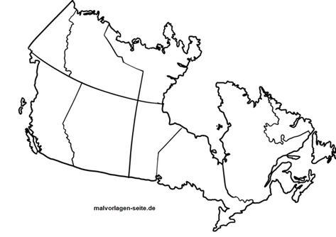 Landkarte Kanada Zum Ausmalen Landkarte Ausmalbilder Und Ausmalen