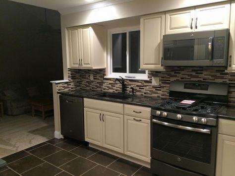 Biscotti W/ Cocco Glaze Cabinets, Slate Appliances | New House | Pinterest  | Slate, Kitchens And House