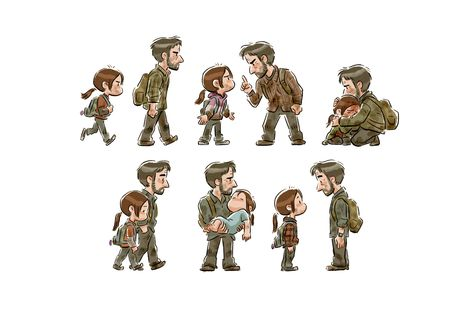 'The Last of Us' Print from Ncdoodles