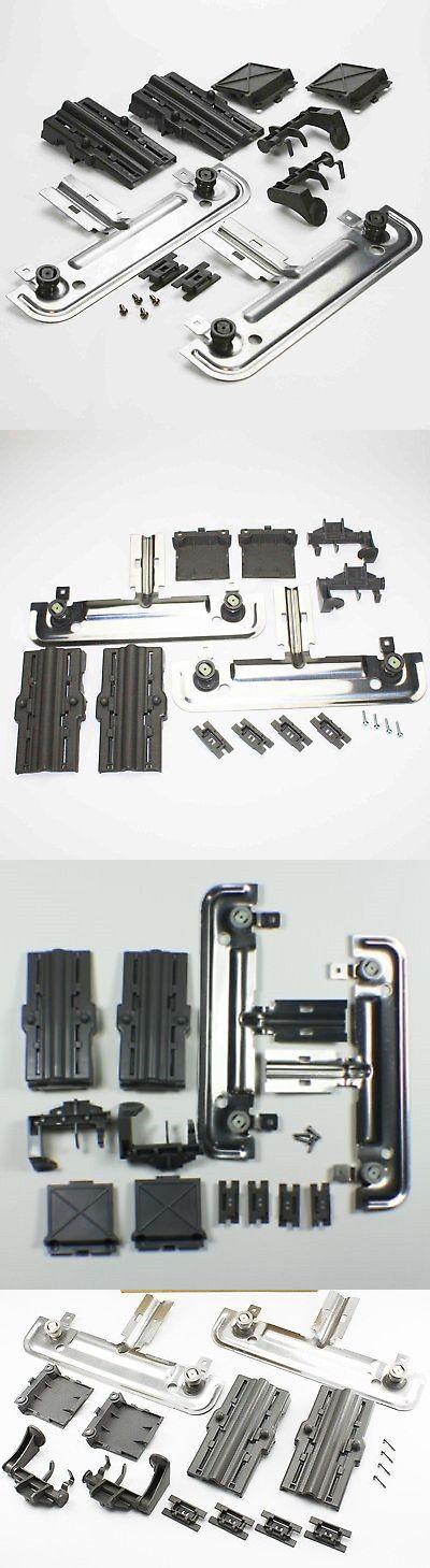 Dishwasher Top Rack Adjuster Kit Upper Unit Kenmore Sears Whirlpool W10712394 Dishwasher Parts Kenmore Whirlpool