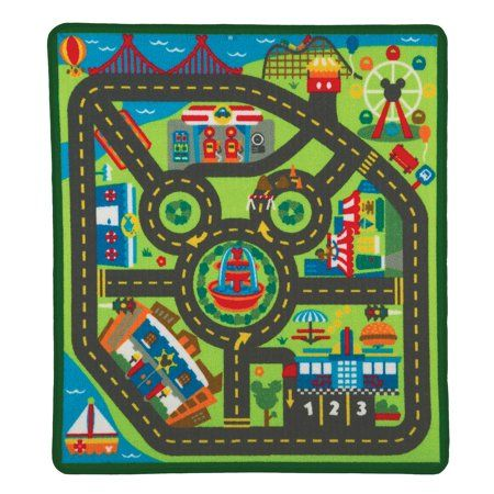Home In 2019 Mickey Friends City Rugs Rugs