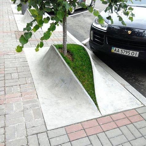 Lovely urban design in Ukraine! ✏️Unknown author Ukraine _____ Follo… Lovely urban design in Ukraine! Landscape Elements, Landscape Architecture Design, Green Architecture, Urban Landscape, Architecture Details, Architecture Jobs, Architecture Diagrams, Architecture Portfolio, Urban Furniture