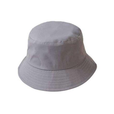 Simple bucket hat - Grey