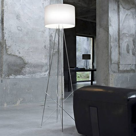 Ray Floor Lamp With Images Modern Floor Lamps Contemporary Floor Lamps Cool Floor Lamps