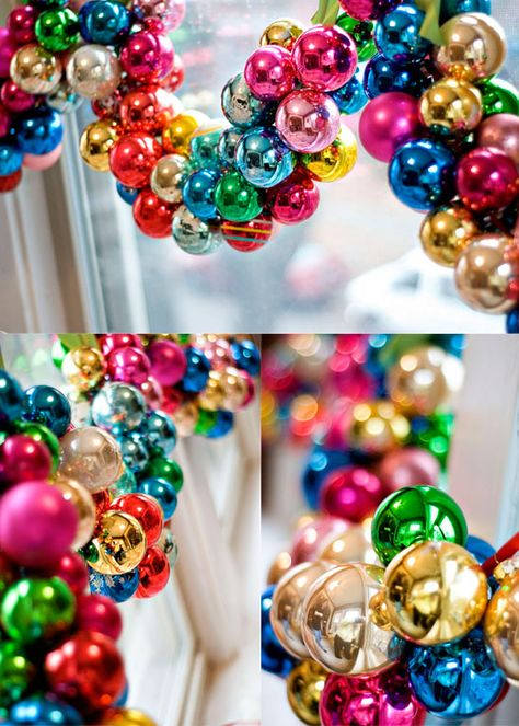 Christmas Ball Garland.Pin On Holiday Crafts Christmas