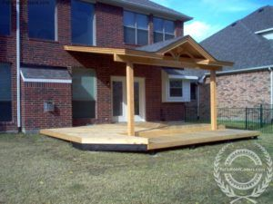 Fairly Low Pitch Shed Roof With 4 12 Pitch Gable Two Posts Patio Roof Covers Patio Addition Patio Roof