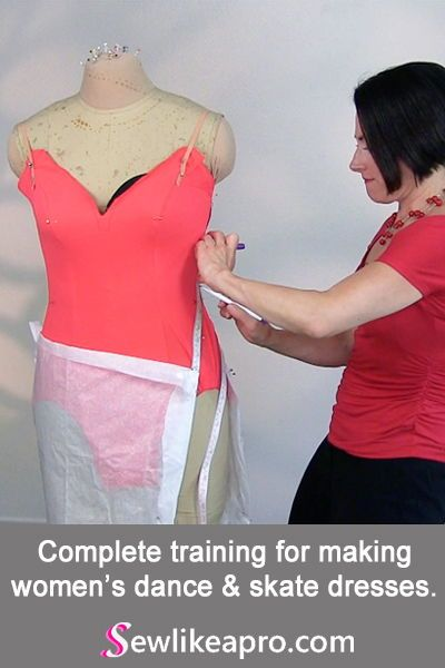 Get Professional Training To Make Top Quality Dancesport Country Skate Dresses Learn To Sew Like A Pro In 2020 Dancesport Ballroom Dress Pattern Skating Dresses