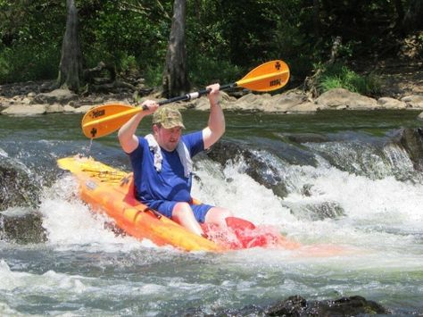 Rent a #kayak or #canoe from Yippie Kayo Kayaks & Canoes and hit the #Mountain Fork #River in southeastern #Oklahoma! It's the perfect #summer adventure.