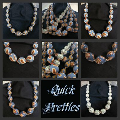 Make a necklace out of a necktie - tutorial