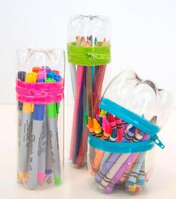 12 Ide Kerajinan Tangan Kreatif Dari Botol Bekas Botol Plastik
