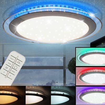 RGB LED Decken Leuchte Kinder Zimmer Sternen Himmel Effekt