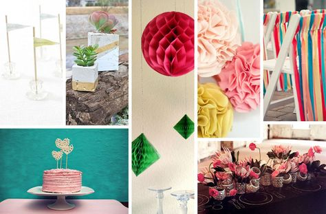 Diy wedding decorations for spring weddingparty decorationshowtomake also party how to make ideas summer rh pinterest