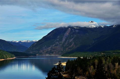 Lake Cushman in the Washington Olympic Mountains  KR Backwoods Photography
