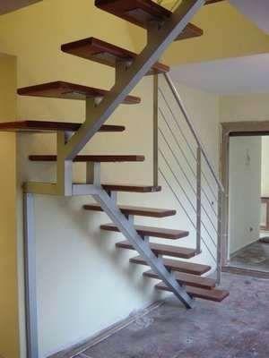 Escaleras De Metal Metal Escaleras De Hierro Y Madera Para Interiores Precios Ideias Para Escadaria Design De Escada Escadas Interiores