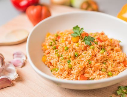 A Simple 5 Step Recipe For Mexican Rice Recipe Mexican Rice Spanish Rice Mexican Food Recipes