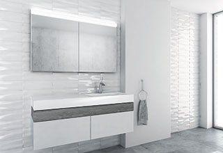 Duplex New Led Spiegelschrank Spiegelschrank Bad Schrank