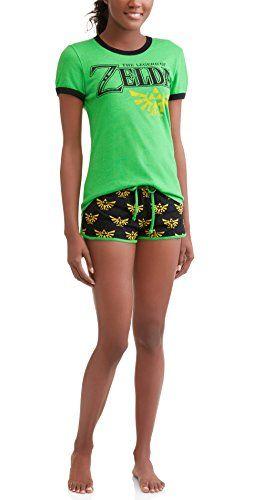 MJC Men/'s The Legend of Zelda Long Lounge Shorts