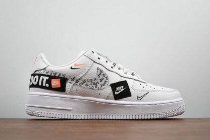 Men S And Women S Nike Air Force 1 07 Premium Just Do It Ar7719 100 For Sale Nike Air Nike Men Nike Air Force