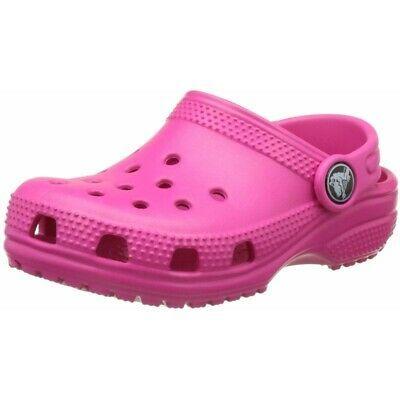 Crocs Kids Classic Clog Candy Pink