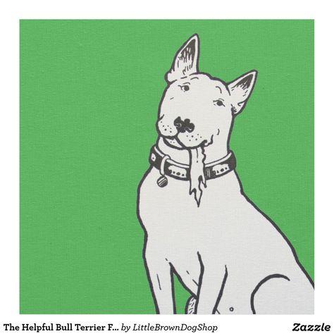 One Pair of Bull Terrier Dog Drop Earrings