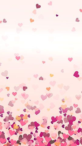 Hearts Fell Flower Phone Wallpaper Heart Wallpaper Wallpaper