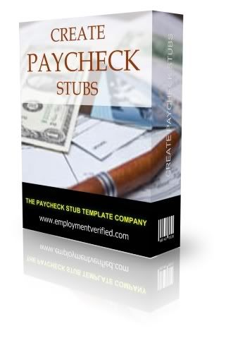 Paycheck Stub Templates are simple and easy to use No software - paycheck stubs templates