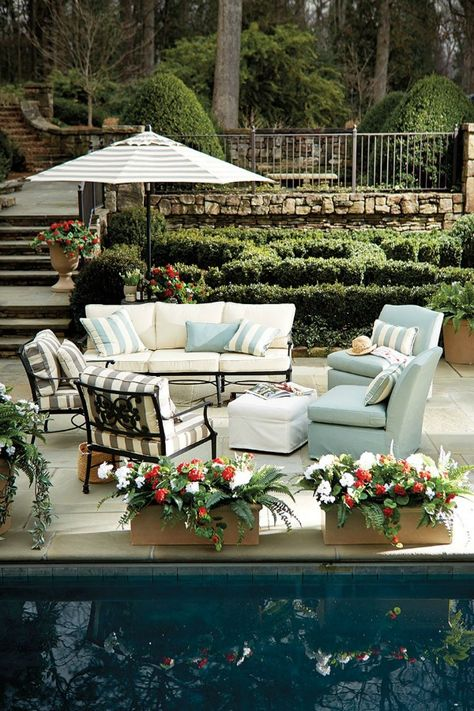 20 Gorgeous Backyards Beautiful Backyard Inspiration Outdoor Seating Outdoor Spaces Outdoor Rooms