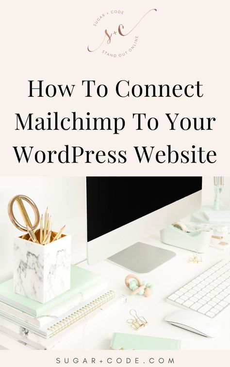 How to Connect Mailchimp to Genesis eNews Extended Plugin | Mailchimp Newsletter Design