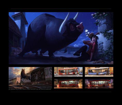 Incríveis artes deAidan Sugano para filmes do Blue Sky Studio | THECAB - The Concept Art Blog