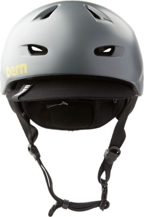 Bern Men S Brentwood Bike Helmet Satin Charcoal Grey Xxl Xxxl