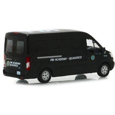 2015 Ford Transit Van Black Fbi Academy Quantico Quantico 2015 2018 Tv Series 1 43 Diecast Model Car By Greenlight In 2021 Ford Transit Diecast Model Cars Car Model