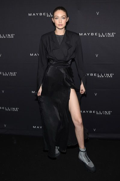 Gigi Hadid attends the Maybelline New York x V Magazine Party.