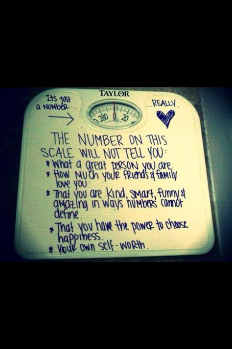 The number on a scale is never worthy of your disappointment