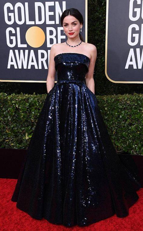 Ana de Armas from Golden Globes 2020 Red Carpet Fashion - Ana de Armas from Golde . - Ana de Armas from Golden Globes 2020 Red Carpet Fashion – Ana de Armas from Golden Globes 2020 Re -