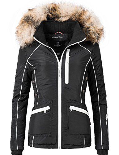 Damen Jacke Navahoo Snow Whitevegan Winterjacke Outdoor 0ZN8wOXnPk