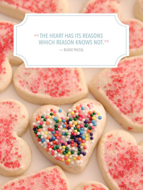 """""""The heart has its reasons which reason knows not."""""""