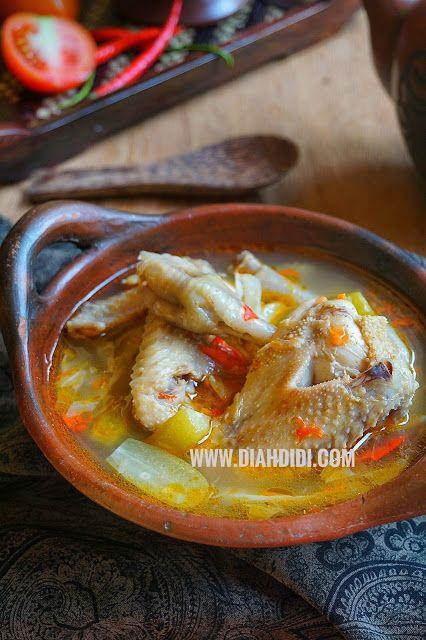 Diah Didi S Kitchen Jangan Kesrut Ayam Resep Masakan Masakan Resep Makanan