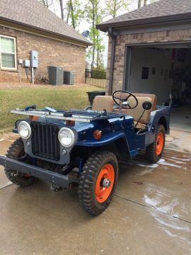 1946 Jeep Willys Cj2a For Sale In 2020 Willys Jeep Willys Jeep