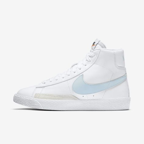 Muted Pastels Cover This Nike Blazer Mid 77 For Women | Nike ...