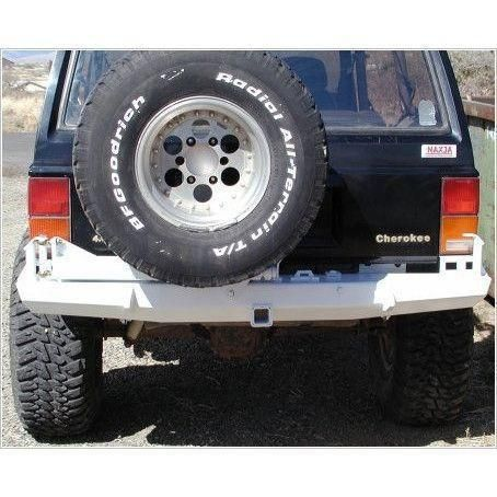 Xj Cherokee Rear Bumper With Tire Carrier Stealth Style Off