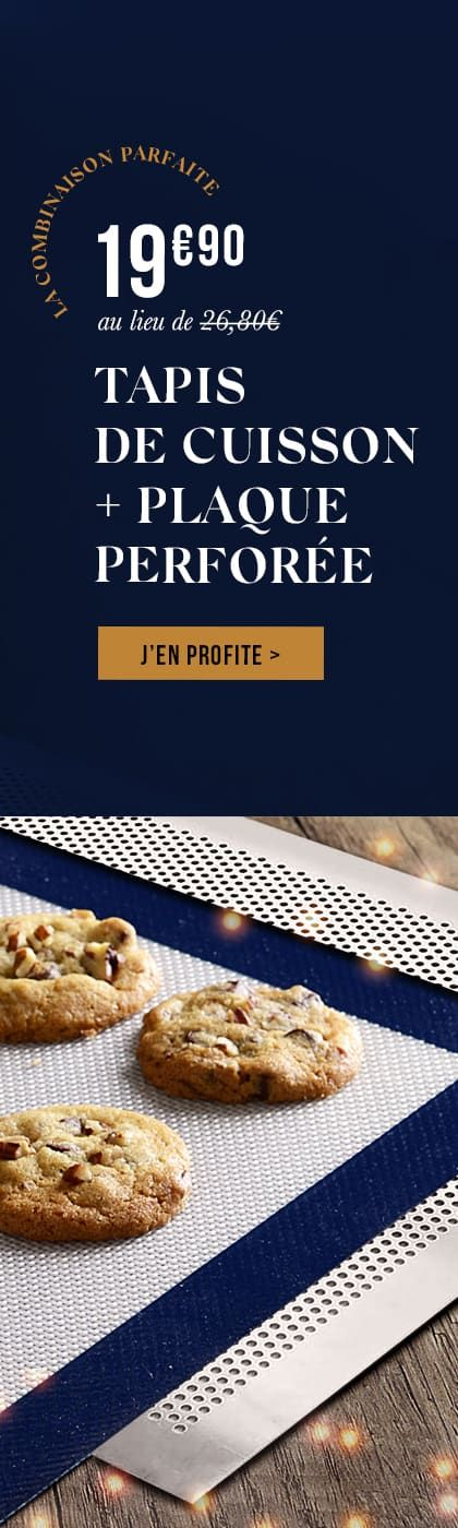 Tapis De Cuisson Plaque Perforee 40 X 30 Cm Meilleur Du Chef Recettes De Cuisine Illustrees Recette Recettes De Cuisine